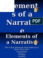 5 Elements of a Short Story