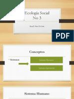 Ecología Social 18