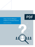 Using Customer Behavior Analytics to Increase Revenue