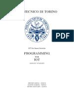 Programming For IOT