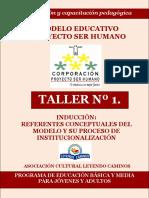 Taller  1actualización pedagógica  PSH