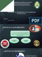 Suscripcion y Memebership, Marketing de Afiliacion