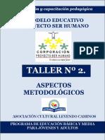 Taller Nº 2. Actualización Pedagógica Me Psh 2015