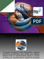 PRESENTACION DEL CALENTAMIENTO GLOBAL. SALUD PUBLICA. OSCAR SANCHEZ NUÑEZ. 1-C.