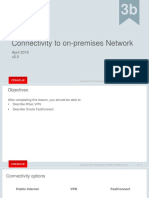 Lesson 3b Connectivity to on-premises Environments