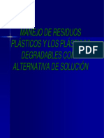 Manejo de Residuos Plasticos