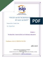 Evaluación e Innovación en el Sistema Educativo