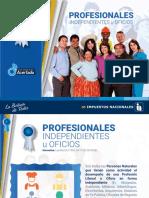 Profesionales Independientes u Oficios Impuestos Nacionales Bolivia