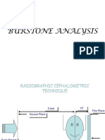Burstone Analysis and Other Paramaters in Omfs