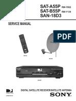 Sony Sat a55p Sat b55p