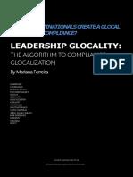 Leadership Glocality