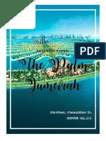 The Palm Jumeirah Reaction Paper