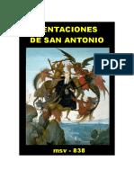 (msv-838) Tentaciones de San Antonio