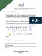 Carta de Autorizacion Consulta Bases -Verus