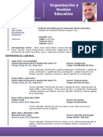 Curriculum Vitae Sanseau Pablo 2019