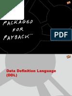 SQL-6 Data Defintion Language