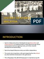history sport malaysia