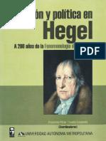 Hegel. Religion y Pensamiento Libre - Sergio Perez Cortes