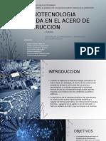 Nanotecnologia en El Acero