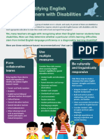 Identifying English Learners With Disabilities