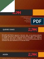 Presentación RPM Rev.1