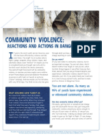 nctsn community violence