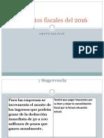 12 puntos fiscales 2016