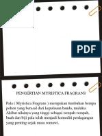 PPT MYRISTICA FRAGRANS