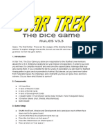 Star Trek the Dice Game Rules v3.3