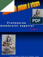 Protezarea Membrului Superior