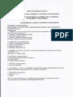 Programma Triennio Percussioni 1 CONS FROSINONE