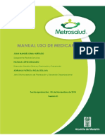 Manual Uso Medicamentos 2014