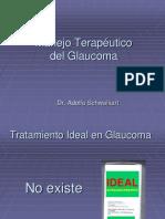 manejo del glaucoma terapeutico