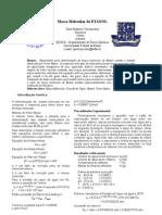 I Relatório Massa Molecular Etanol (Fis-Qui)