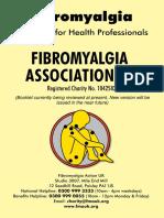 Fibromyalgia Guidance for Health Professionals