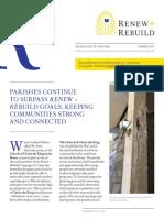 Renew + Rebuild Newsletter Summer 2019 (EN)