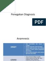 Penegakan Diagnosis Uveitis