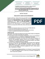 ACTA N° 06-2019 - Evaluacion de Expedientes - CAS 004