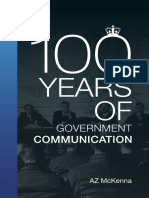 100 Years of Government Communications History