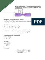 Ejercicios de Flujo Ideales y Perdida de Fricción (Alfonso Roque).