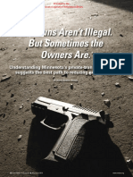 The Guns Aren't Illegal. but Sometimes the Owners Are