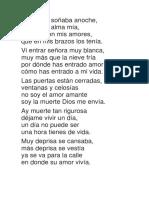 Romance Del Enamorado y La Muerte - Victor Jara