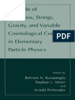 Kursunoglu B., Et Al. (Eds.) - The Role of Neutrinos, Strings, Gravity, And Variable Cosmological Constant in Particle Physics (2002, Kluwer)