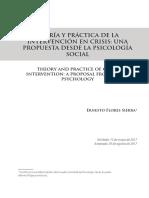 Teoria y Practica de La Intervencion en Crisis Belen Enferma