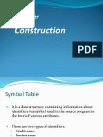 6 Symbol Table