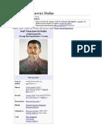 Iosif Vissarionovici Stalin