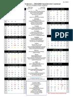 year round calendar 2019-2020