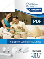 B2C Lighting Product Catalogue With Price List