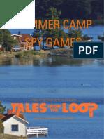 Summer Camp Spy Games