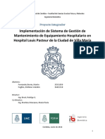 Proyecto Integrador Mantencion Preventiva y Correctiva